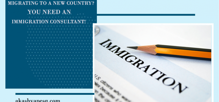 Migrating to a New Country? You Need an Immigration Consultant!